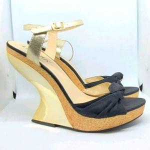Sweet yet Sassy, (practically) heel-less shoes